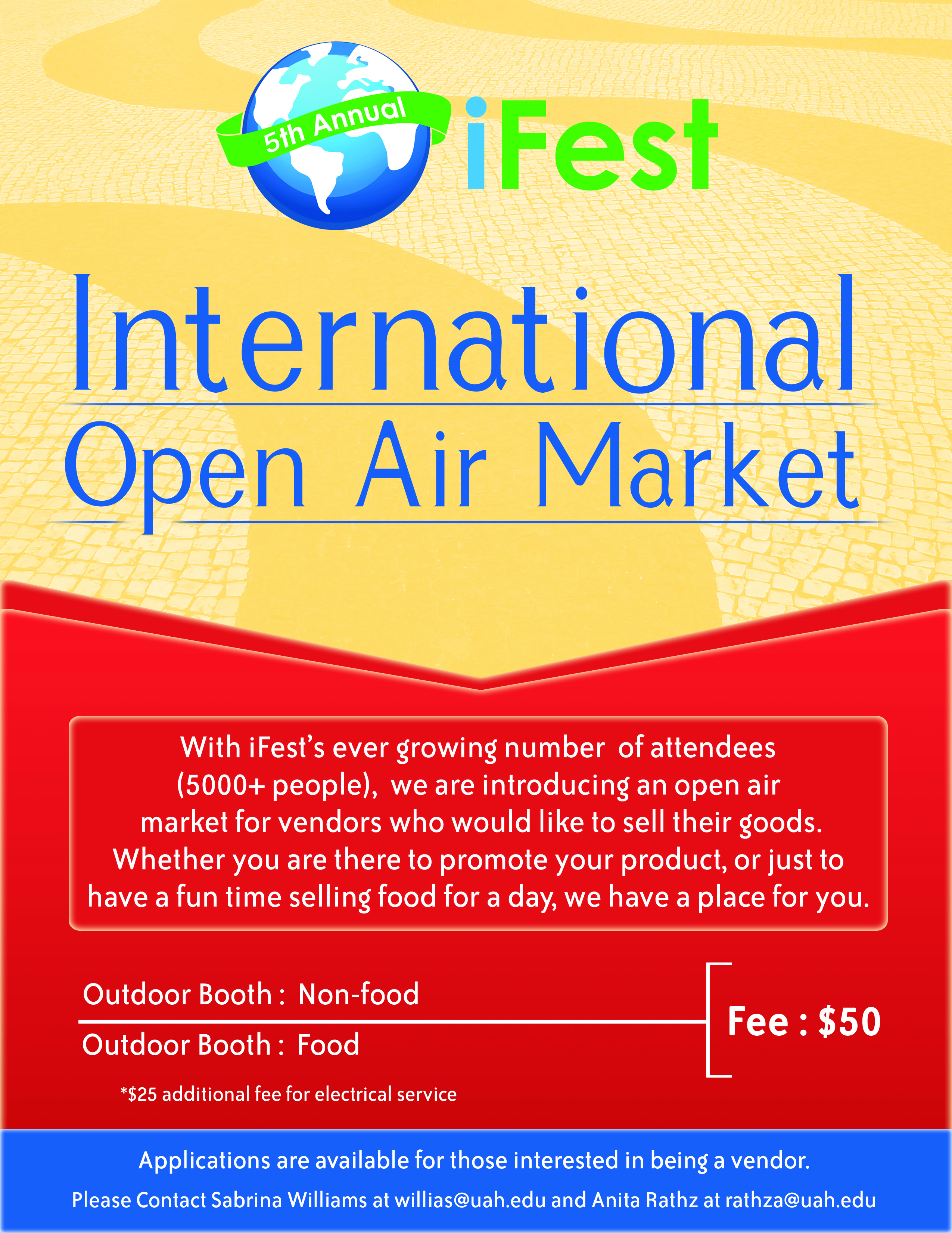 iFest Vendor Flyer